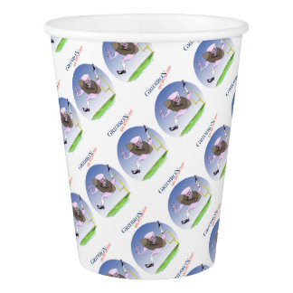 Gridiron born bred proud, tony fernandes paper cup