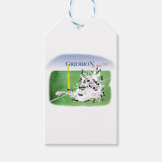 Gridiron -'hail mary pass', tony fernandes gift tags
