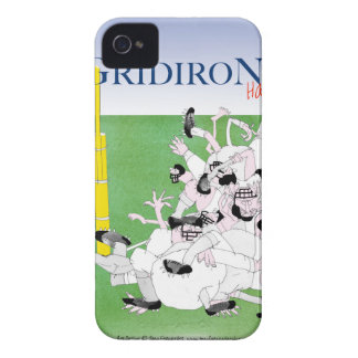 Gridiron -'hail mary pass', tony fernandes iPhone 4 case