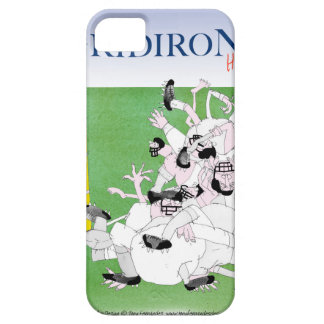 Gridiron -'hail mary pass', tony fernandes iPhone 5 cover
