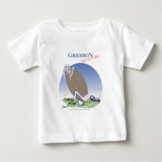 Gridiron kicked in the grass, tony fernandes baby T-Shirt