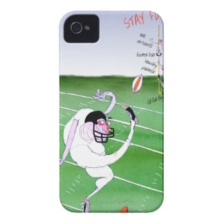 Gridiron  stay focused, tony fernandes Case-Mate iPhone 4 cases