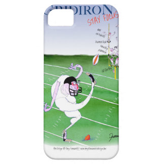 Gridiron - stay focused, tony fernandes iPhone 5 case