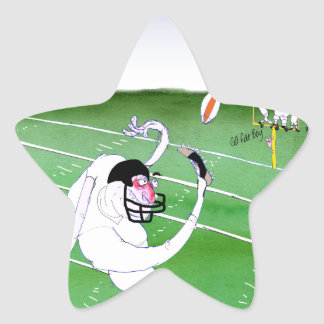 Gridiron - stay focused, tony fernandes star sticker