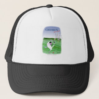 Gridiron - stay focused, tony fernandes trucker hat