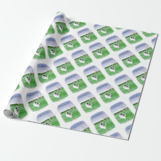 Gridiron - stay focused, tony fernandes wrapping paper