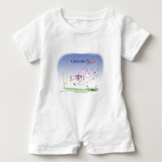 Gridiron - steamroller, tony fernandes baby bodysuit