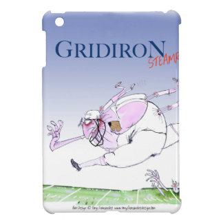 Gridiron - steamroller, tony fernandes iPad mini covers