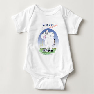 Gridiron - take no prisoners, tony fernandes baby bodysuit