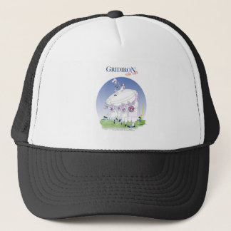 Gridiron teamwork, tony fernandes trucker hat