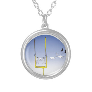 Gridiron - wash day, tony fernandes silver plated necklace