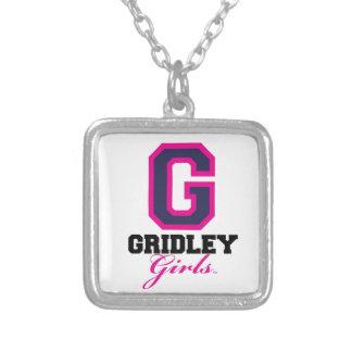 GridleyGirls Square Pendant Necklace