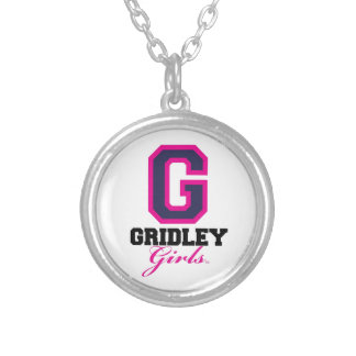 GridleyGirls Round Pendant Necklace