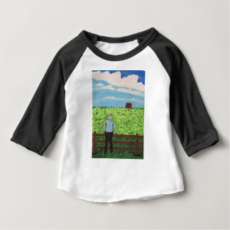 Griff and the Red Barn Baby T-Shirt