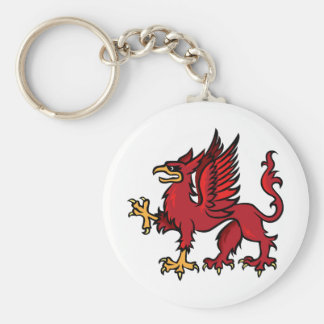 Griffin Basic Round Button Key Ring