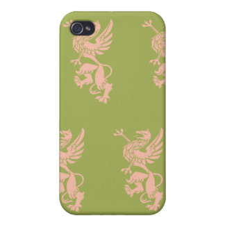 Griffin peach green iPhone 4/4S cases