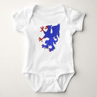 Griffin Rampant Azure Baby Bodysuit