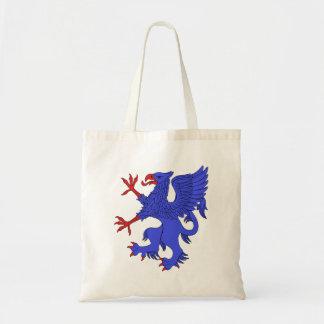 Griffin Rampant Azure Tote Bag