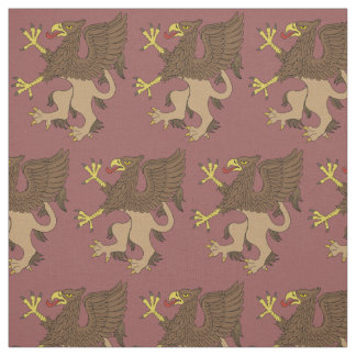 Griffin Rampant Fabric