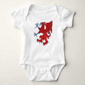 Griffin Rampant Gules Baby Bodysuit