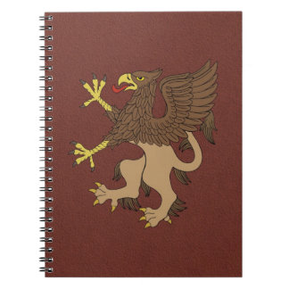 Griffin Rampant Notebooks