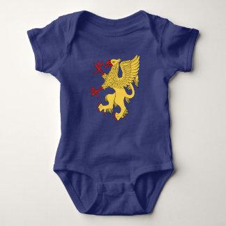 Griffin Rampant Or Baby Bodysuit