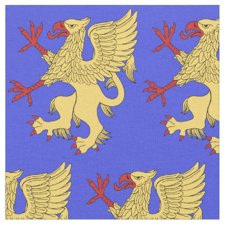 Griffin Rampant Or Fabric