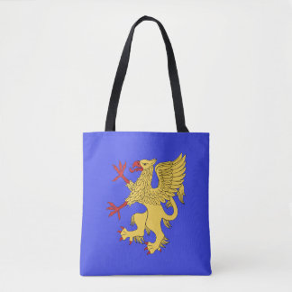 Griffin Rampant Or Tote Bag