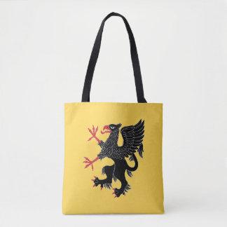 Griffin Rampant Sable Tote Bag