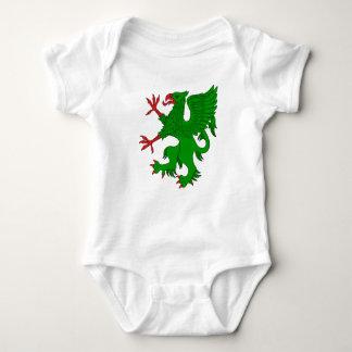 Griffin Rampant Vert Baby Bodysuit