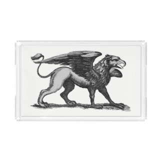 Griffin Serving Tray