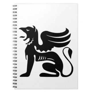 griffin spiral notebook