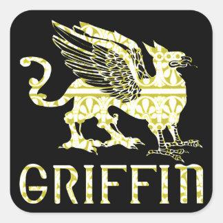 Griffin Square Sticker