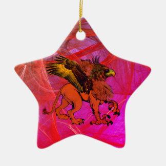Griffin Star Ornament #1