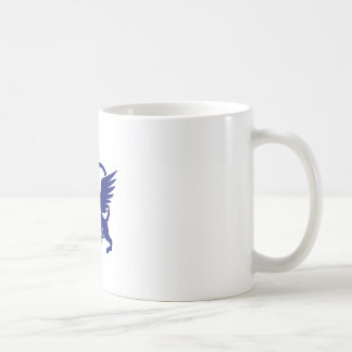 Griffin with Paintbrush Tail Icon Coffee Mug