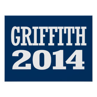 GRIFFITH 2014 POSTERS