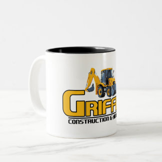 Griffith Constructioin (Company Support) Two-Tone Coffee Mug