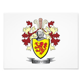 Griffith Family Crest Coat of Arms Photo