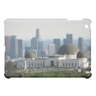 Griffith Observatory and Downtown Los Angeles iPad Mini Cases