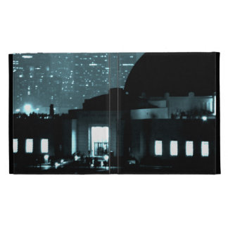 Griffith Observatory Entrance iPad Folio Cases