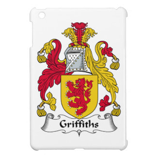 Griffiths Family Crest iPad Mini Cover