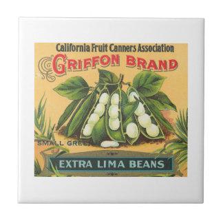 Griffon Brand Lima Beans Ceramic Tiles