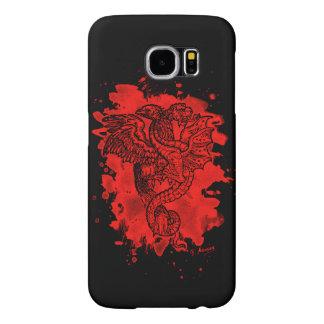 Griffon & Dragon bleached talk Samsung Galaxy S6 Cases