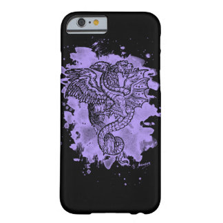 Griffon & Dragon bleached violet Barely There iPhone 6 Case