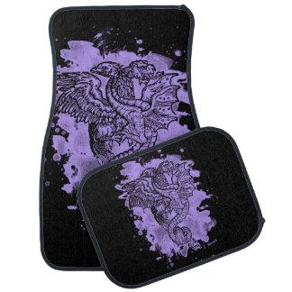 Griffon & Dragon bleached violet Floor Mat