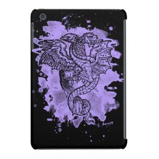 Griffon & Dragon bleached violet iPad Mini Cases