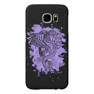 Griffon & Dragon bleached violet Samsung Galaxy S6 Cases