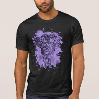 Griffon & Dragon bleached violet T Shirts