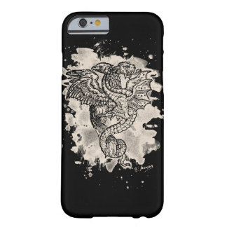 Griffon & Dragon bleached white Barely There iPhone 6 Case