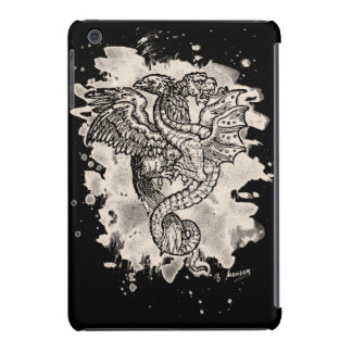 Griffon & Dragon bleached white iPad Mini Case